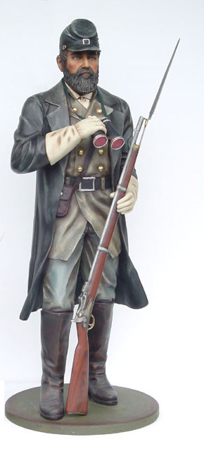 Confederate Soldier 6 ft