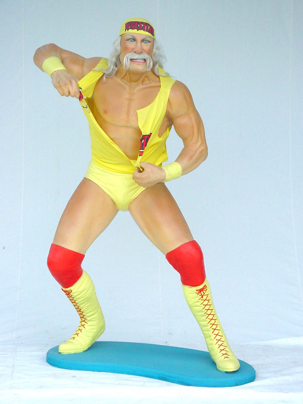 Hulk Hogan 6 ft