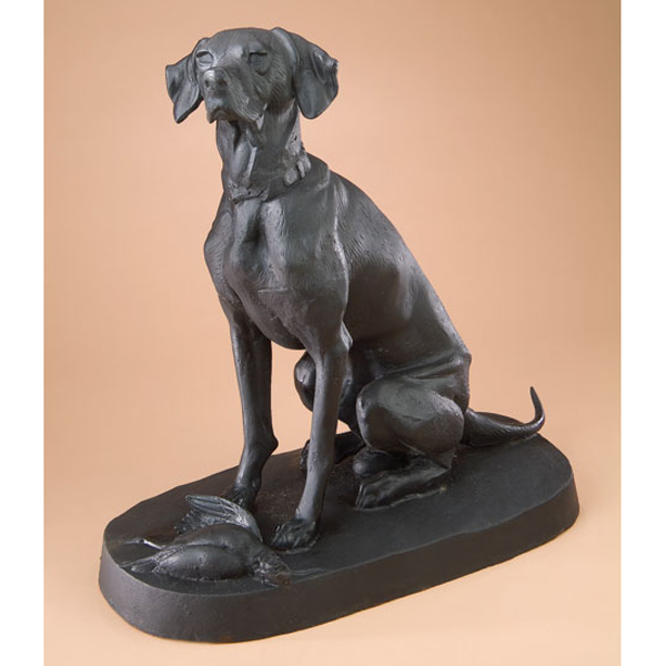 Cast Iron Hunting Dog