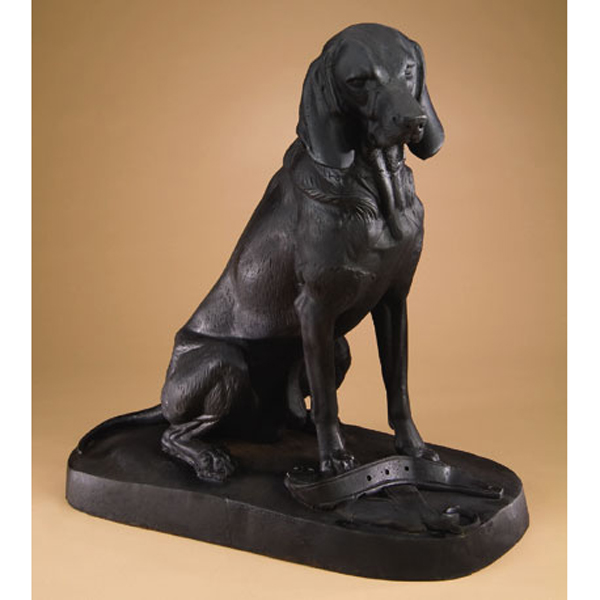 Cast Iron Retriever Dog