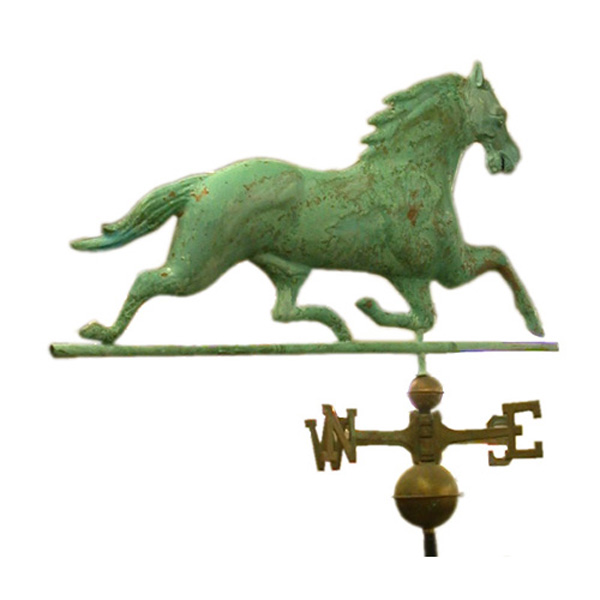 Full Bodied Horse Weather Vane