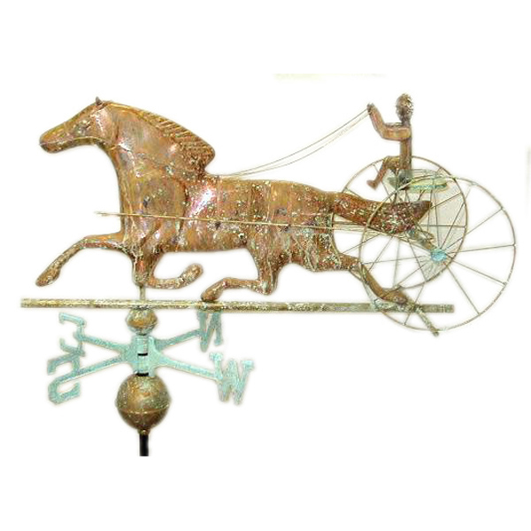 Horse and Surrey Weather Vane