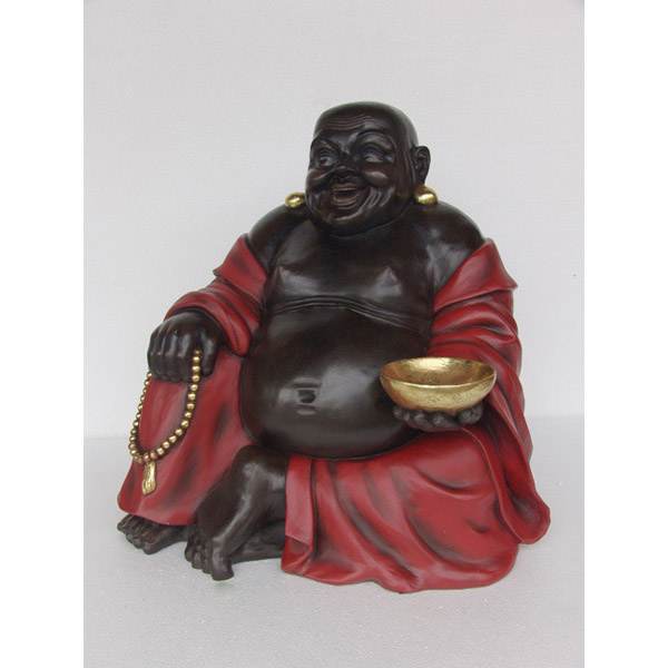 Buddha Sitting-Red and Black