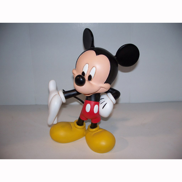 Mickey Mouse with curious pose