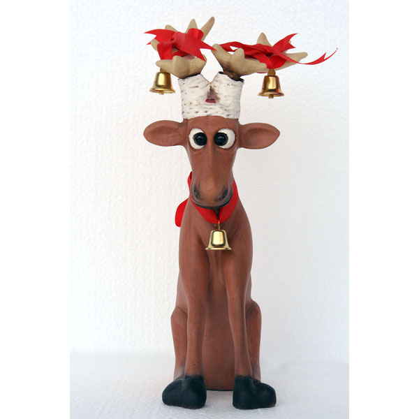 Funny Reindeer Sitting 1 Ft.