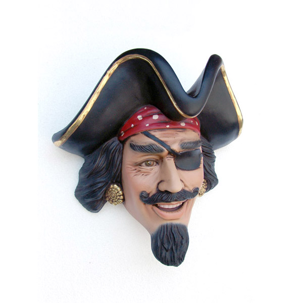 Pirate Head Wall Decor