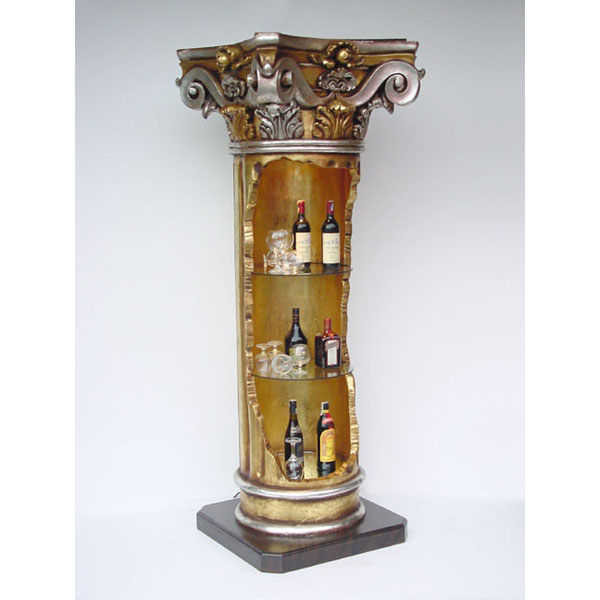 Corinthian Pillar Display Shelf
