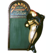 Shark Billiard Blackboard