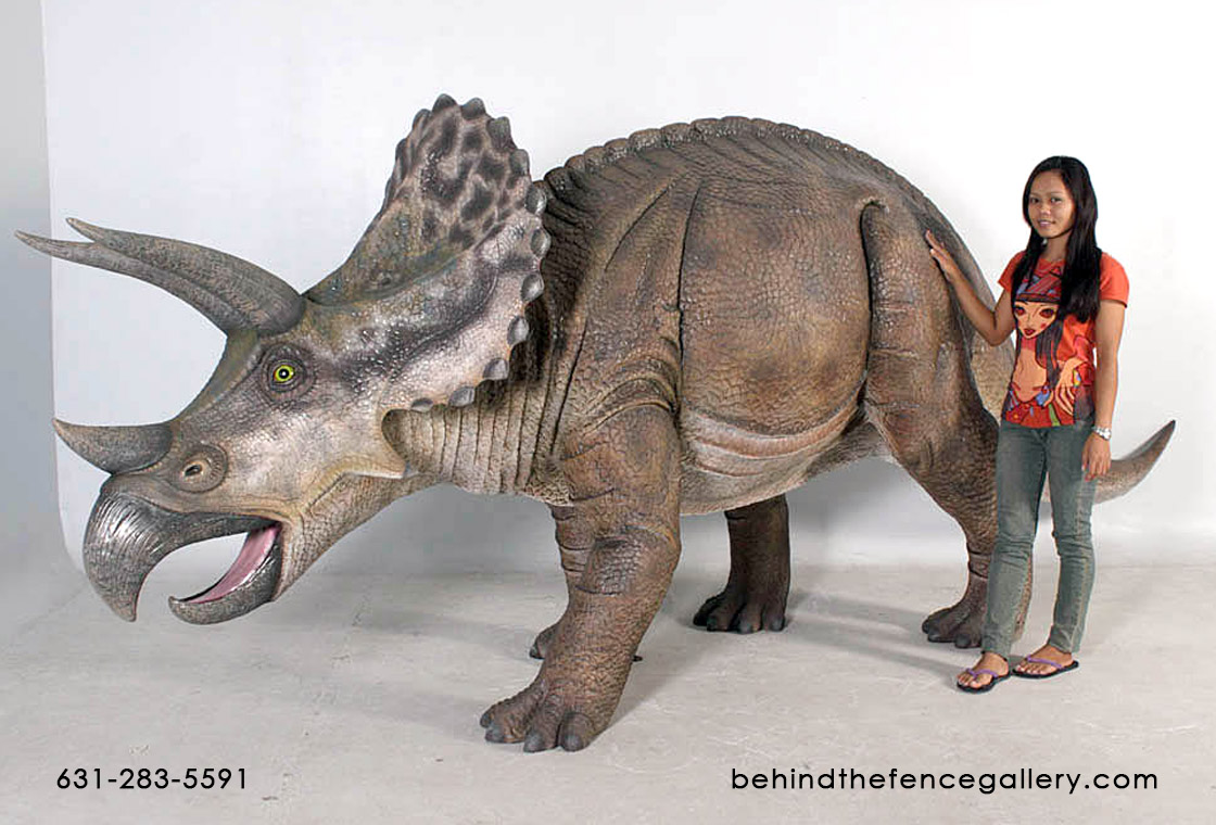 Triceratops Statue - Life Size